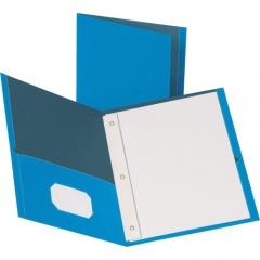 Business Source Storage Pockets Fastener Folders (78507)