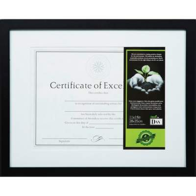 Burnes Home Accents DAX FSC Certified Black Wooden Frame (1826S3T)