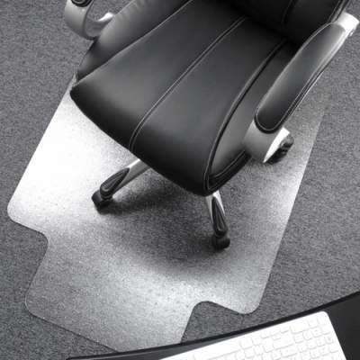 Floortex Cleartex Ultimat Low/Medium Pile Carpet Chairmat w/Lip (1115223LR)