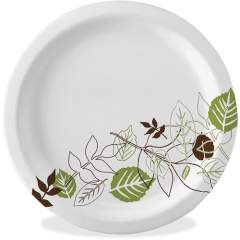 Dixie Ultra Pathways Heavyweight Paper Plates by GP Pro (SXP10PATHPK)