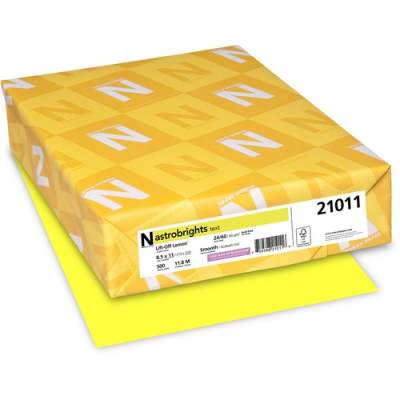 Neenah Paper Astrobrights Laser, Inkjet Print Colored Paper (21011)