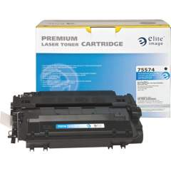 Elite Image Remanufactured Toner Cartridge - Alternative for HP 55X (CE255X) (75574)
