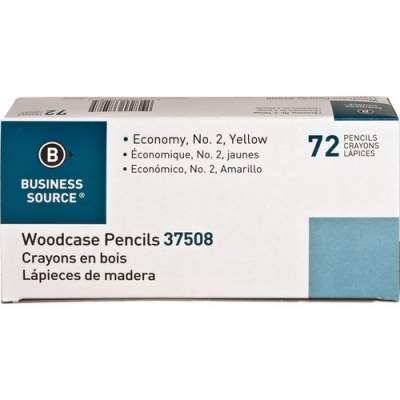 Business Source Woodcase No. 2 Pencils (37508)