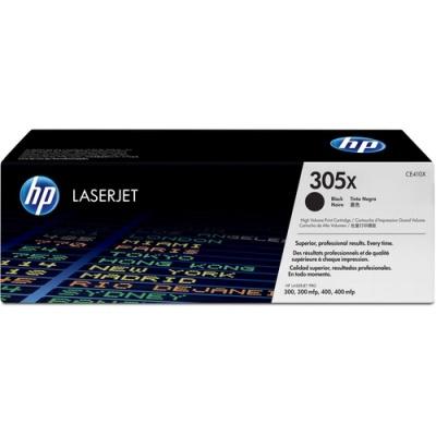 HP 305X High Yield Black Original LaserJet Toner Cartridge (CE410X)