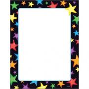 TREND Gel Stars Copy & Multipurpose Paper - Assorted, White (T11413)