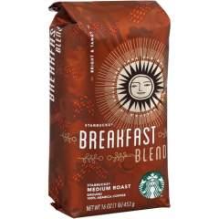 Starbucks 1 lb. Bag Breakfast Blend Ground Coffee Ground