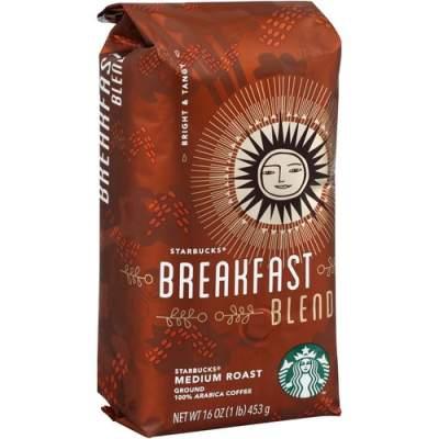 Starbucks 1 lb. Bag Breakfast Blend Ground Coffee Ground (11018185)