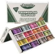 Crayola Triangular Anti-roll Crayons (52-8039)