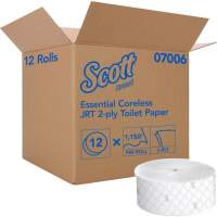 Kimberly-Clark Professional Essential Jumbo Roll Coreless Toilet Paper (07006)