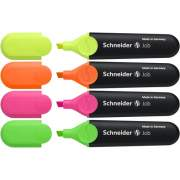 Stride Schneider Job Highlighter 4-color Pack (01500)