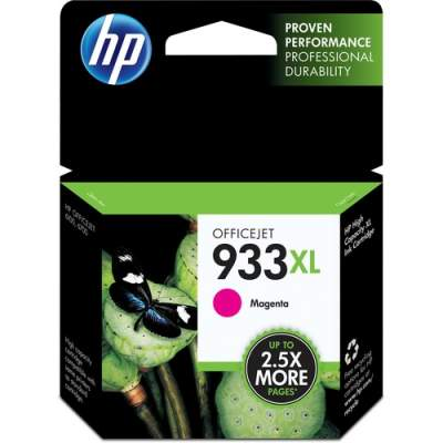 HP 933XL High Yield Magenta Original Ink Cartridge (CN055AN)