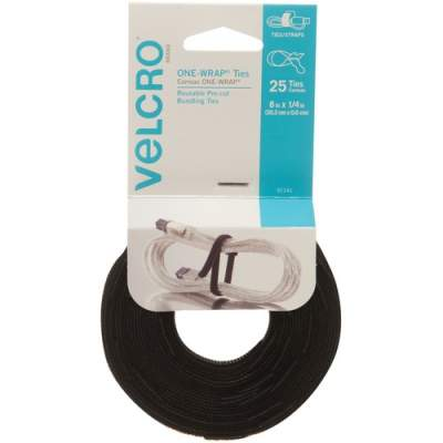 VELCRO Brand Reusable Self-Gripping Cable Ties (91141)