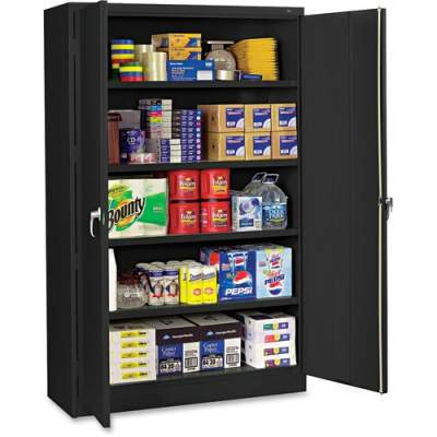 Tennsco Black Jumbo Storage Cabinet (J1878SUBK)