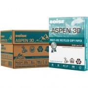 "BOISE ASPEN 30% Recycled Multi-Use Copy Paper, 8.5"" x 11"" Letter, 92 Bright White, 20 lb., 5 Ream Carton (2,500 Sheets) (054901JR)"