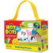 Educational Insights Beginning Phonics Hot Dots Junior Card Set (2352)