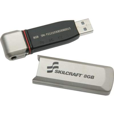 National Industries For the Blind SKILCRAFT 10-key PIN-pad USB Flash Drive (7045015999351)