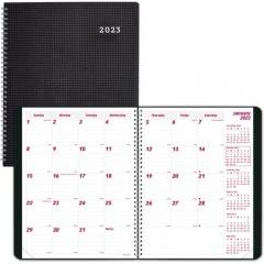 Brownline DuraFlex 14-Month Monthly Planner (CB1262VBLK)