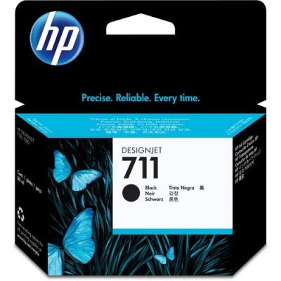 HP 711 80-ml Black DesignJet Ink Cartridge (CZ133A)