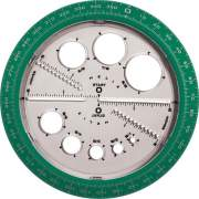 Helix Angle and Circle Protractor (36002)