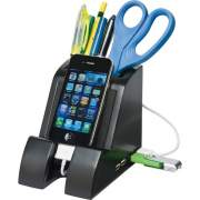 Victor Smart Charge USB Hub Pencil Cup (PH600)
