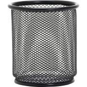 Lorell Black Mesh/Wire Pencil Cup Holder (84149)