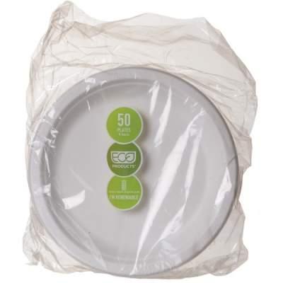 Eco-Products Sugarcane Plates (EPP013PK)
