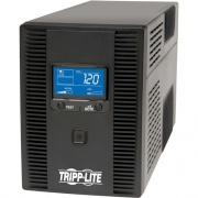 Tripp Lite UPS 1500VA 810W Battery Back Up Tower LCD USB 120V ENERGY STAR V2.0 (OMNI1500LCDT)