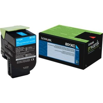 Lexmark Unison 801XC Toner Cartridge (80C1XC0)