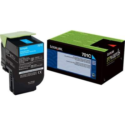 Lexmark Unison 701C Toner Cartridge (70C10C0)