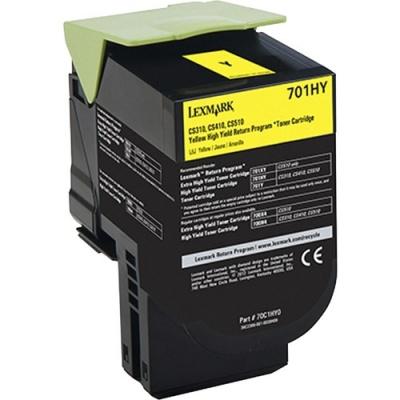 Lexmark Unison 701HY Toner Cartridge (70C1HY0)
