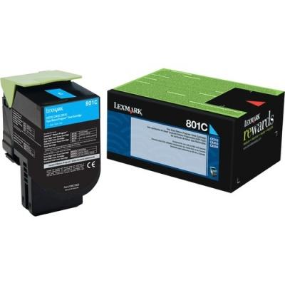 Lexmark Unison 801C Toner Cartridge (80C10C0)