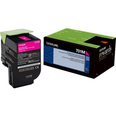 Lexmark Unison 701M Toner Cartridge (70C10M0)