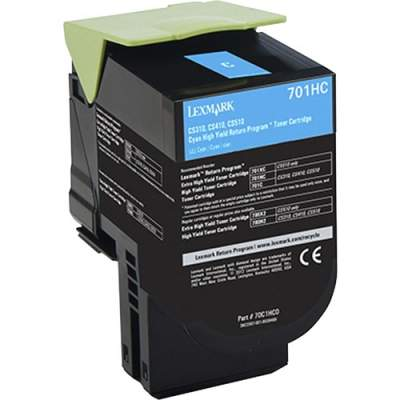 Lexmark 701HC Toner Cartridge (70C1HC0)