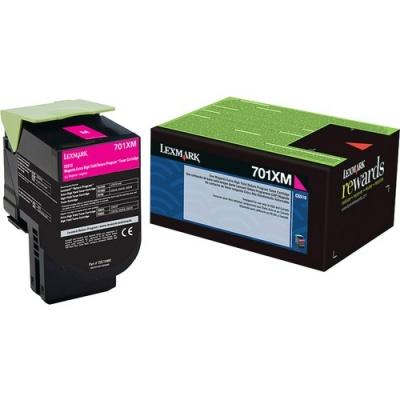 Lexmark Unison 701XM Toner Cartridge (70C1XM0)