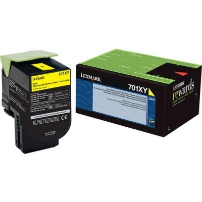 Lexmark Unison 701XY Toner Cartridge (70C1XY0)