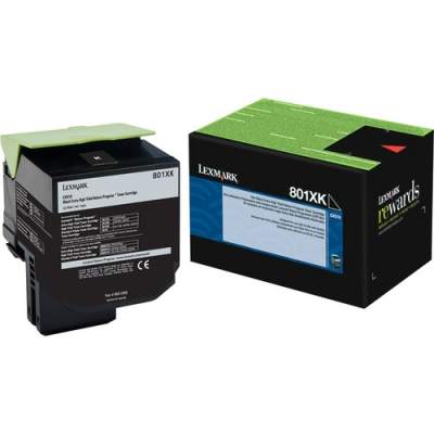 Lexmark Unison 801XK Toner Cartridge (80C1XK0)
