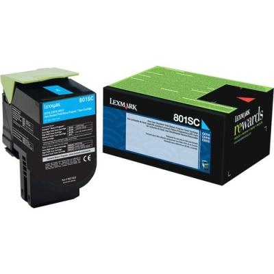 Lexmark Unison 801SC Toner Cartridge (80C1SC0)