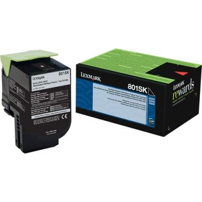 Lexmark Unison 801SK Toner Cartridge (80C1SK0)