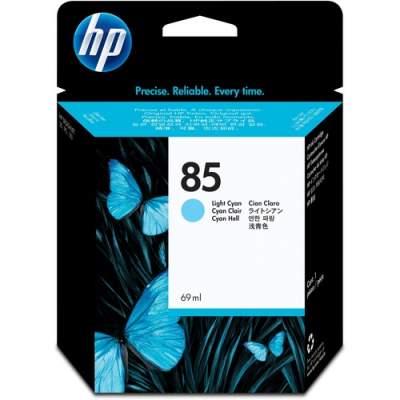 HP 85 69-ml Light Cyan DesignJet Ink Cartridge (C9428A)