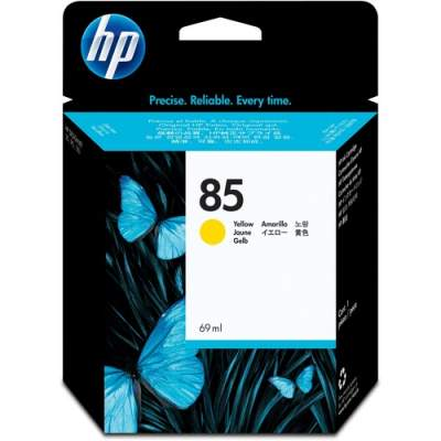 HP 85 69-ml Yellow DesignJet Ink Cartridge (C9427A)