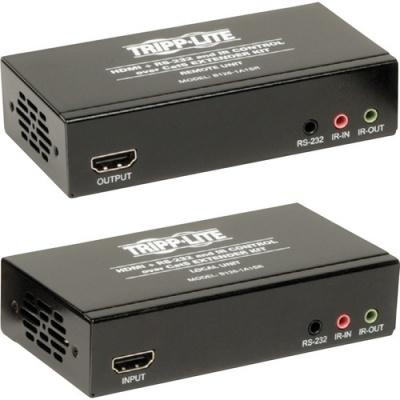 Tripp Lite HDMI + IR + Serial RS232 over Cat5 Cat6 Active Video Extender TAA GSA (B126-1A1SR)