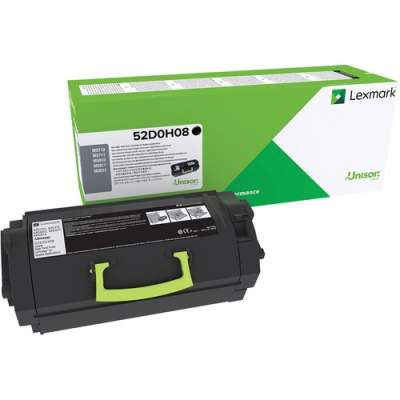 Lexmark Toner Cartridge - Black (52D0H08)