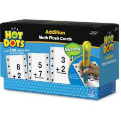 Hot Dots Hot Dots Addition Math Flash Cards (2755)