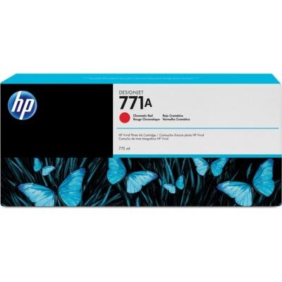 HP 771A 775-ml Chromatic Red DesignJet Ink Cartridge (B6Y16A)