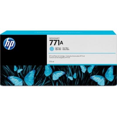 HP 771A 775-ml Light Cyan DesignJet Ink Cartridge (B6Y20A)