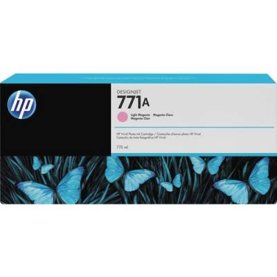 HP 771A 775-ml Light Magenta DesignJet Ink Cartridge (B6Y19A)