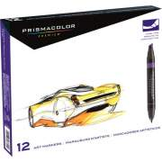 Newell Brands Prismacolor Premier Chisel|Fine Double Ended Art Markers (3620)