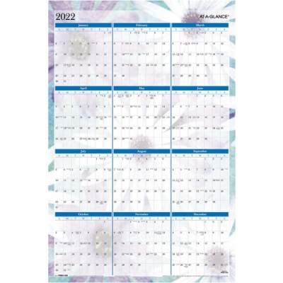 AT-A-GLANCE Dreams Erasable Wall Planner (PM83550)