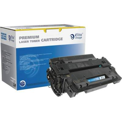 Elite Image Remanufactured Toner Cartridge - Alternative for HP 55X (CE255X) (75619)