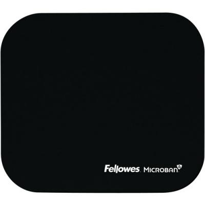 Fellowes Microban Mouse Pad - Black (5933901)